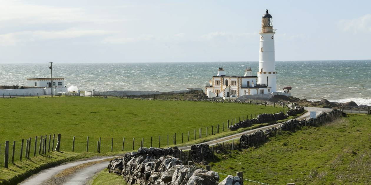 Phare de Corsewall - Région des Borders - Ecosse - Royaume-Uni