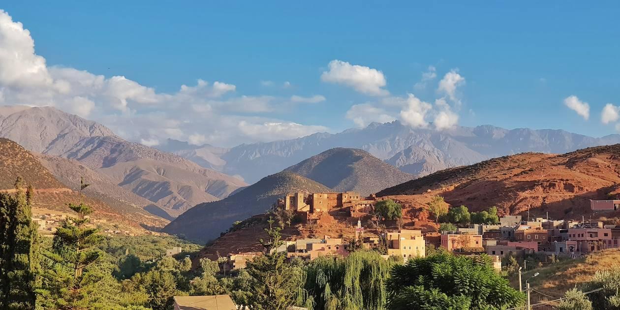 Village d'Asni – Région de l'Atlas - Maroc