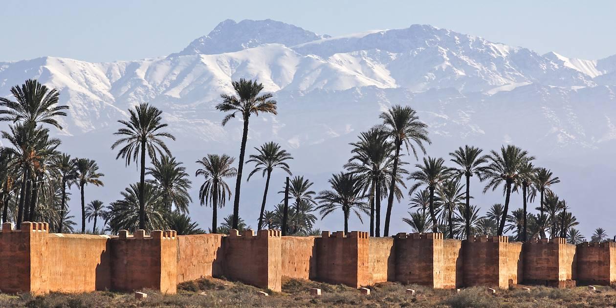 Les remparts de Marrakech - Maroc