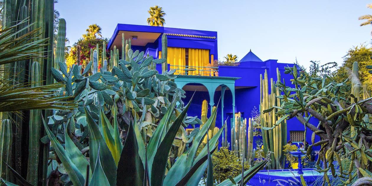 Le Jardin Majorelle et sa villa Art Déco - Marrakech - Maroc