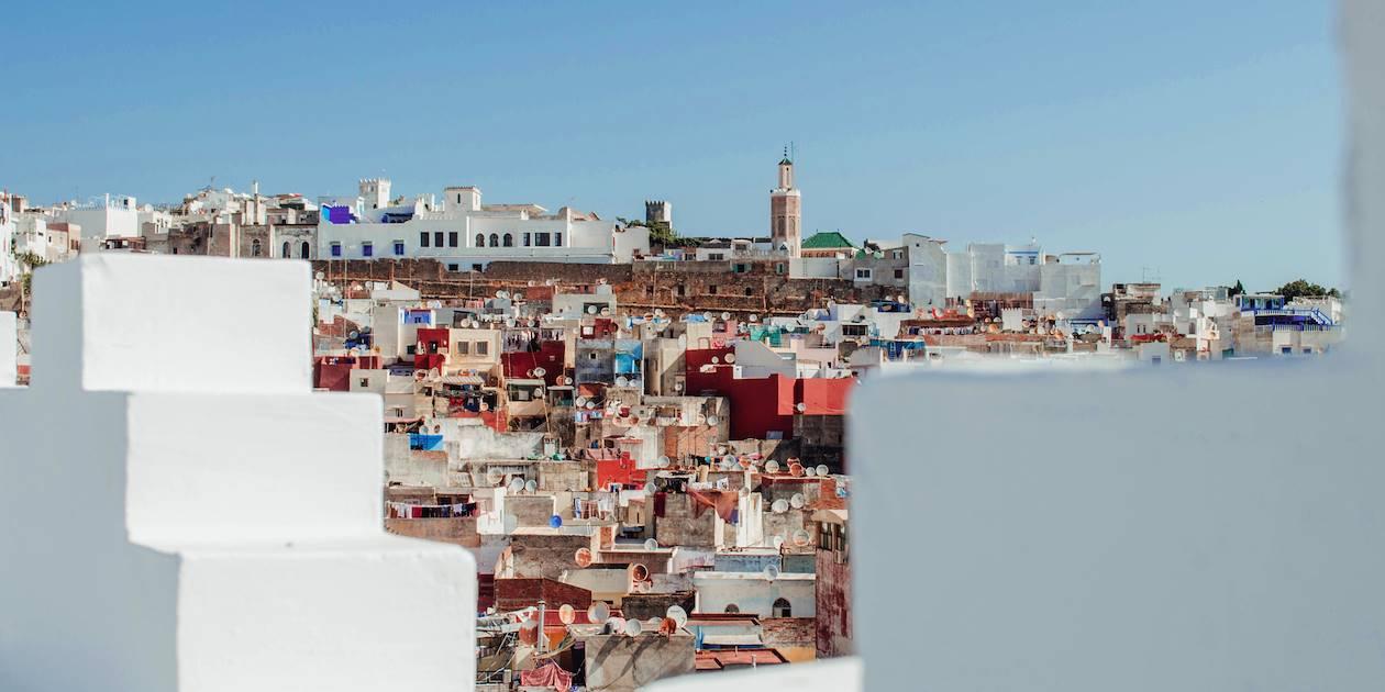 Vue sur les toits de Tanger - Maroc