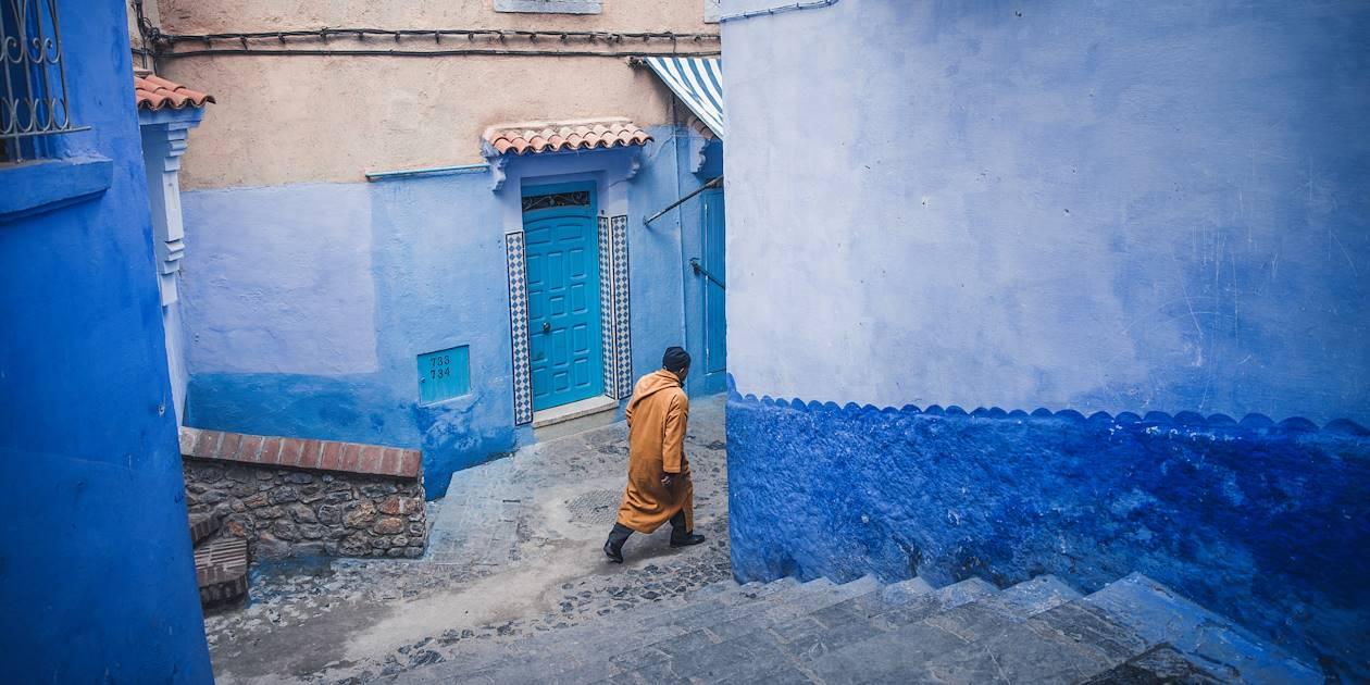 Dans une ruelle de Tétouan - Maroc