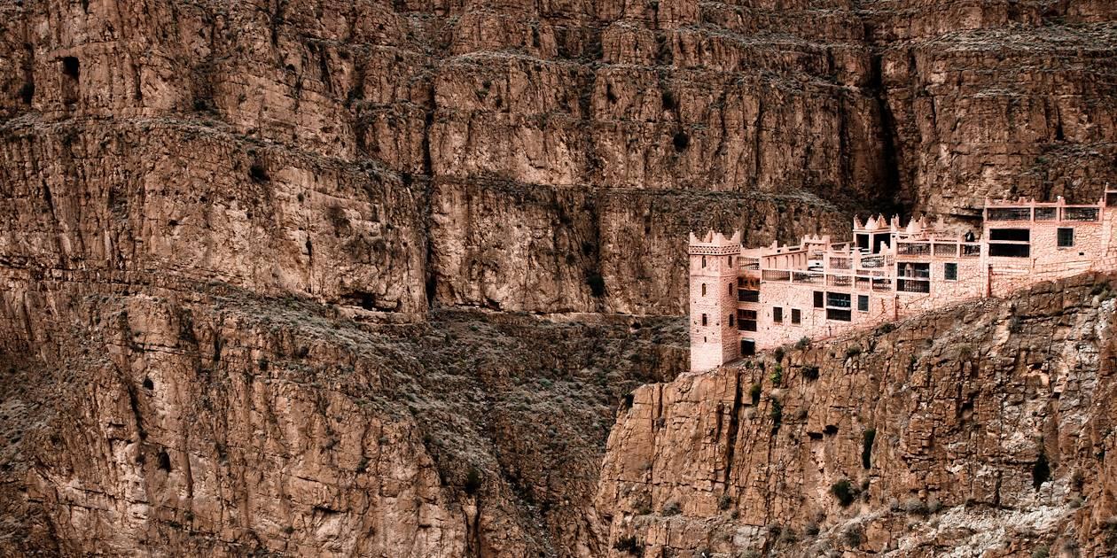 Village dans les Gorges de Dadès - Maroc