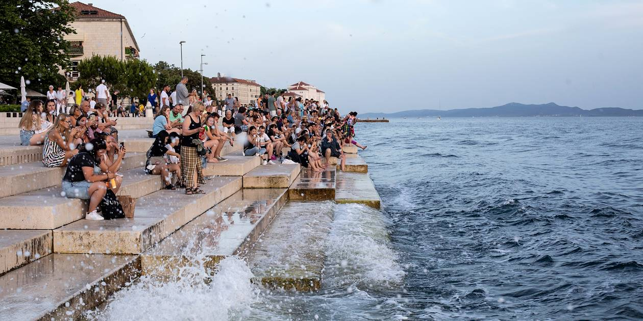 L'Orgue de la Mer de Zadar - Croatie