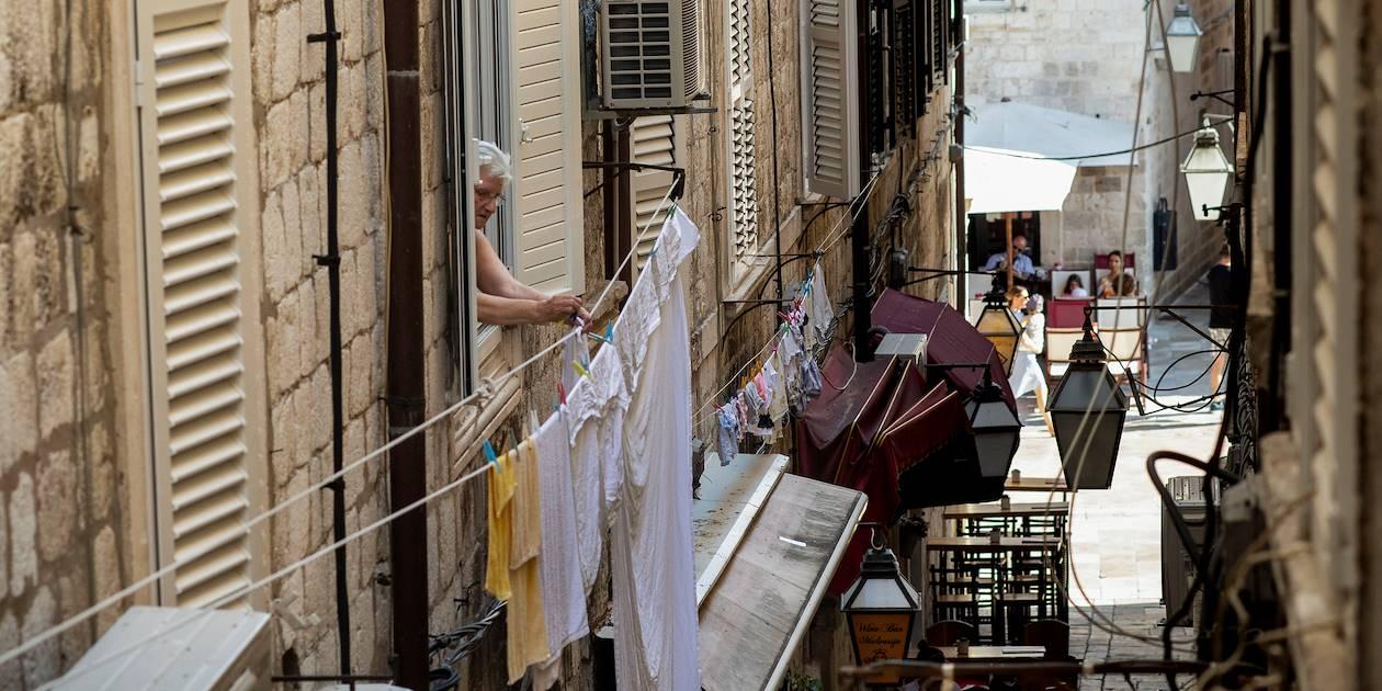 Dans une ruelle de Dubrovnik - Croatie