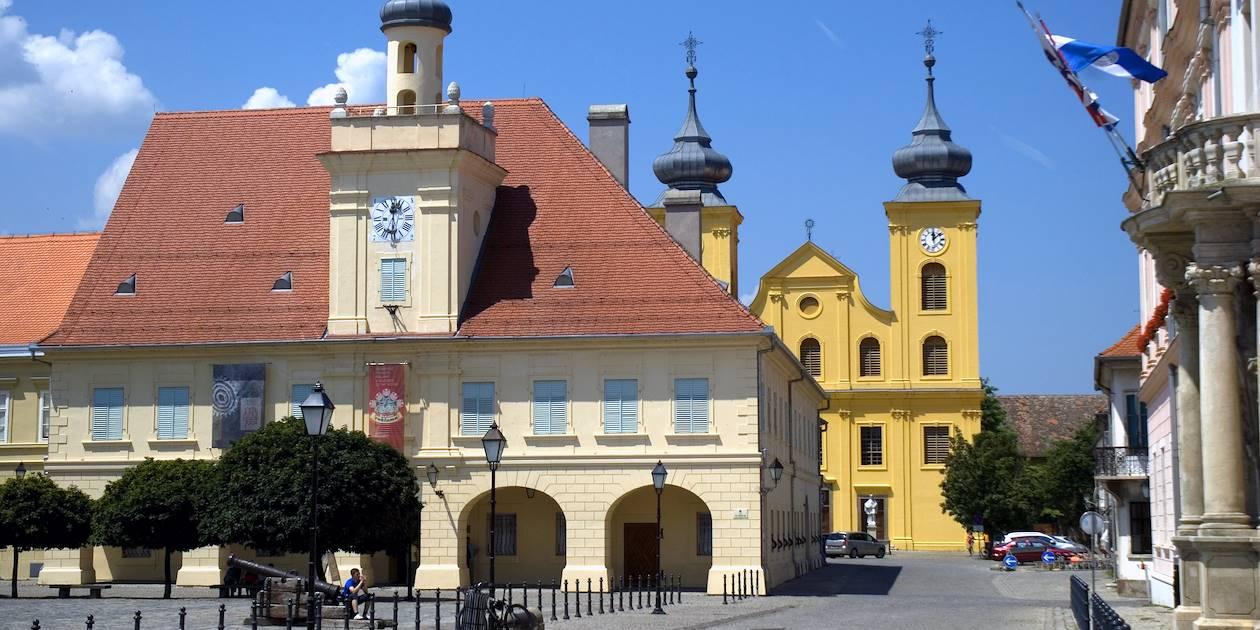 Vieille ville d'Osijek - Croatie
