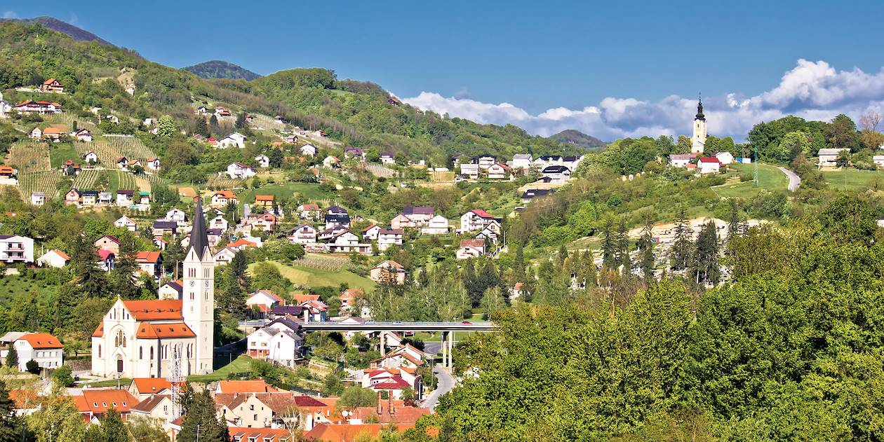 Krapina - Comté de Krapina-Zagorje - Croatie