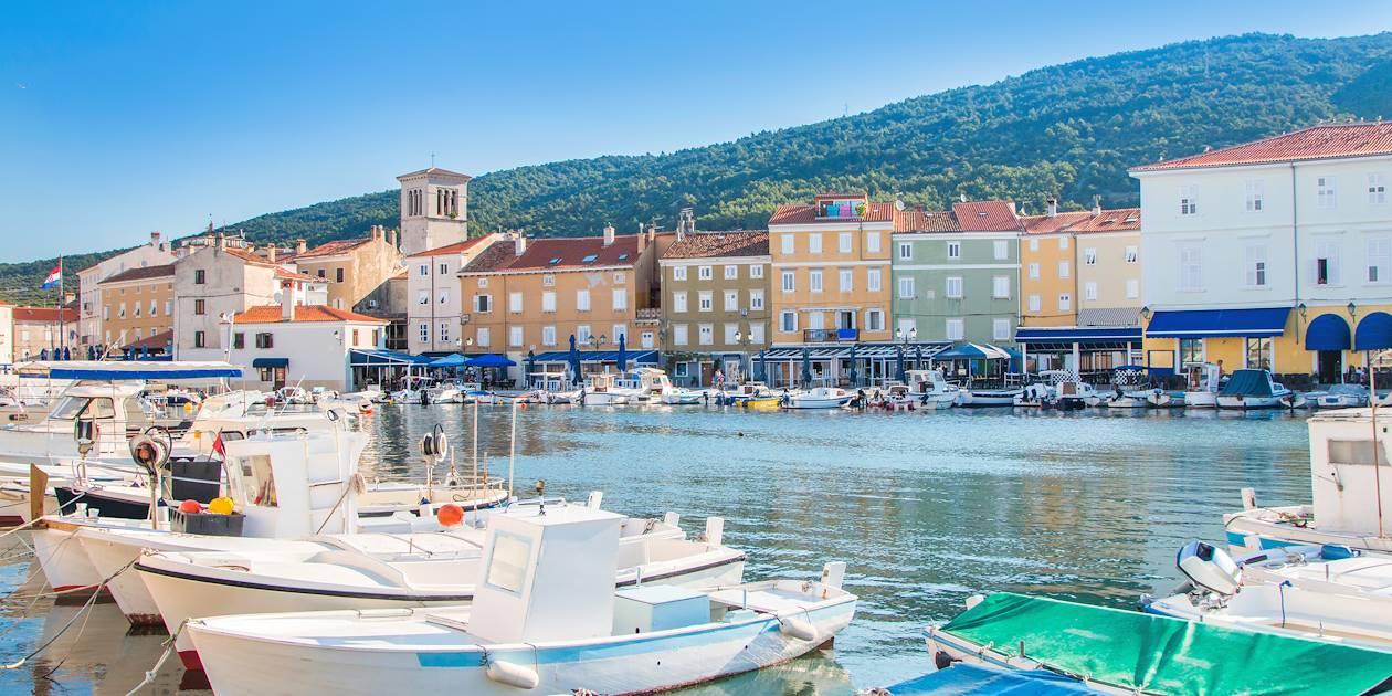 Le port de Cres - Île de Cres - Kvarner- Croatie
