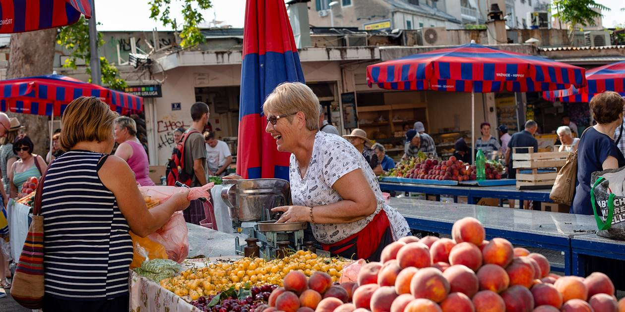 Marché de Split - Croatie