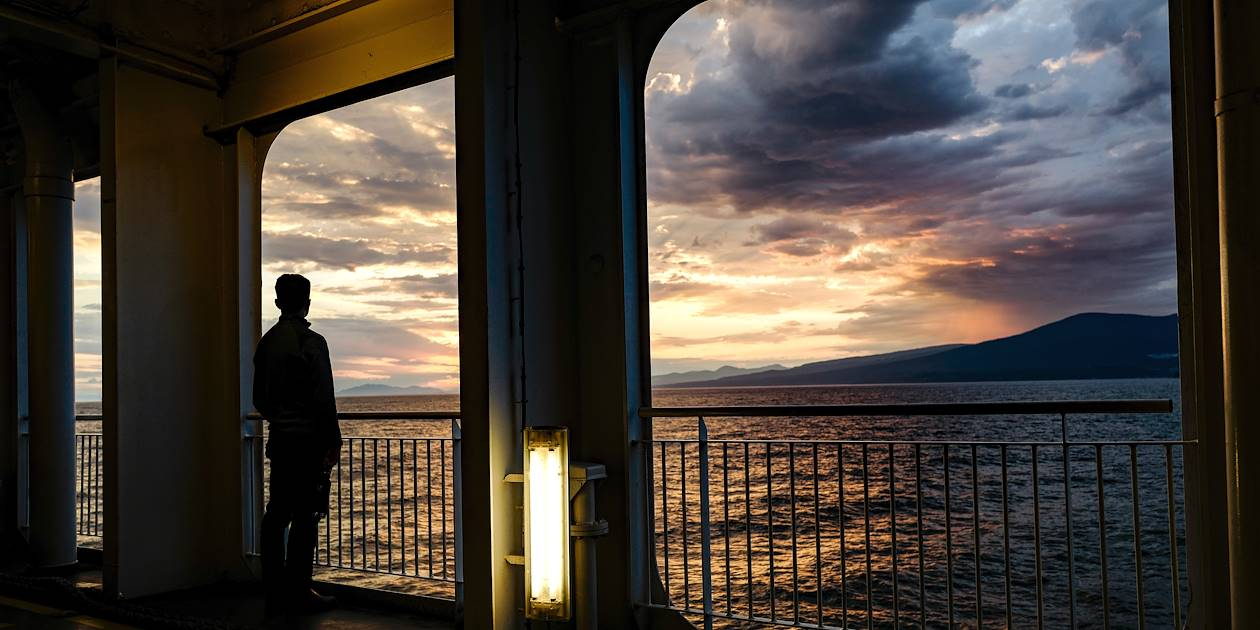Ferry de Vancouver - Colombie-Britannique - Canada