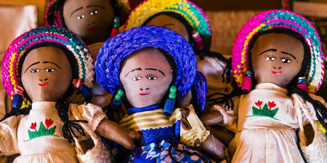 Poupées artisanales - Madagascar