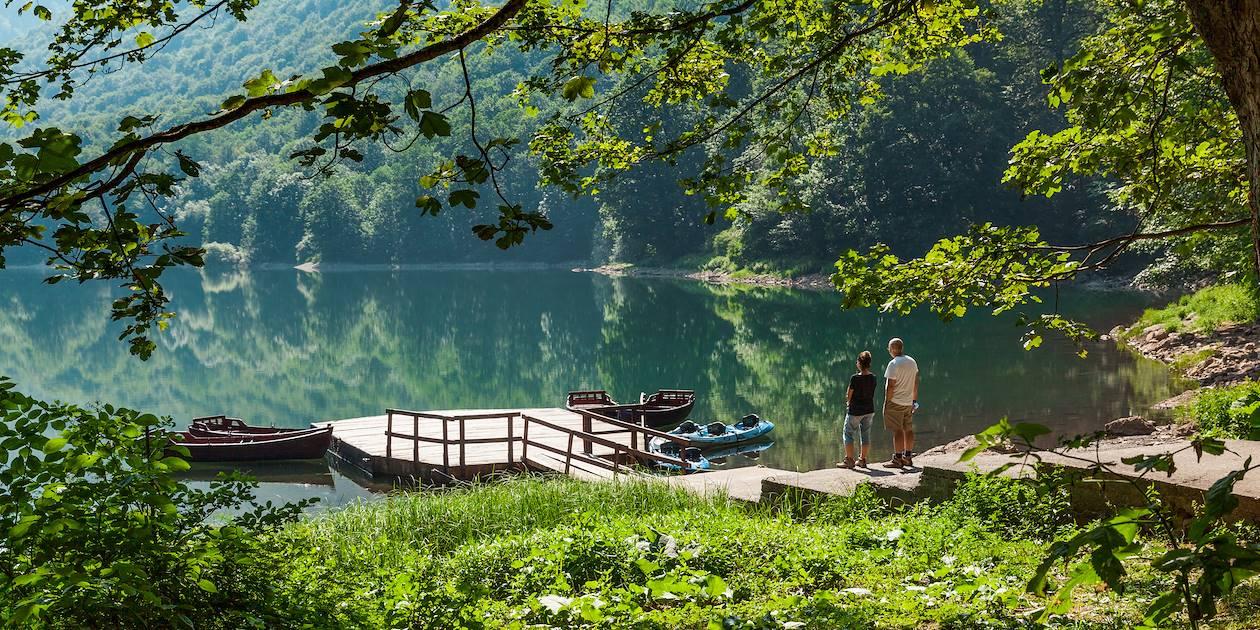 Lac de Biograd dans le Parc National de Biogradska Gora - Monténégro