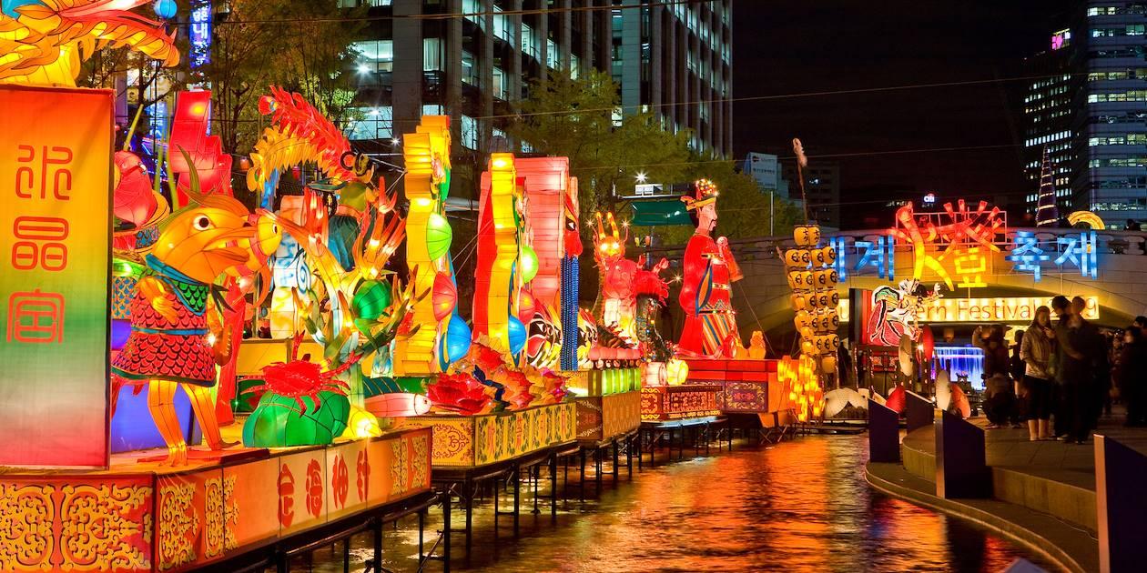 Festival des Lanternes à Séoul - Corée du Sud