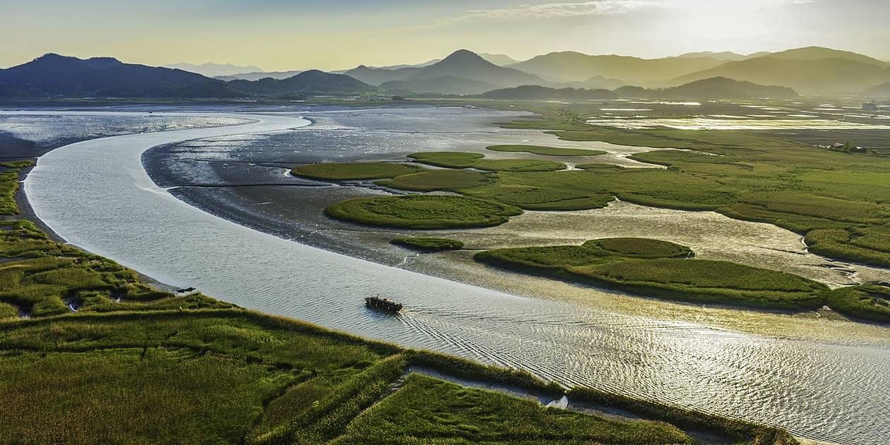 Baie écologique de Suncheon - Corée du Sud