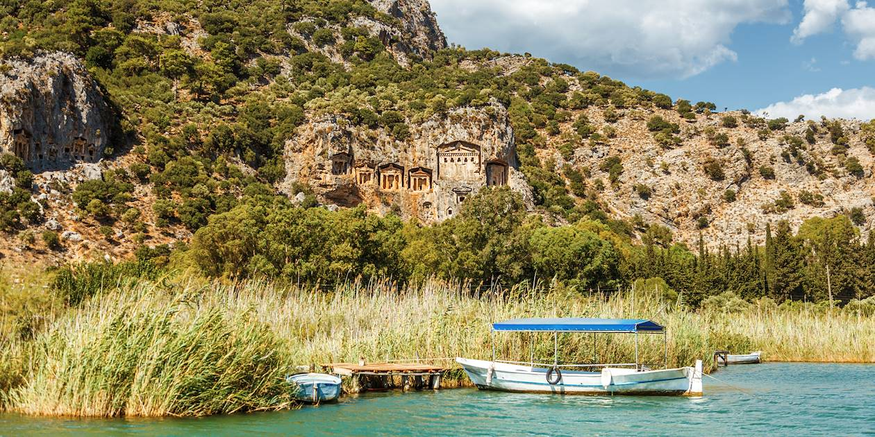 Tombeaux lyciens de Dalyan - Turquie