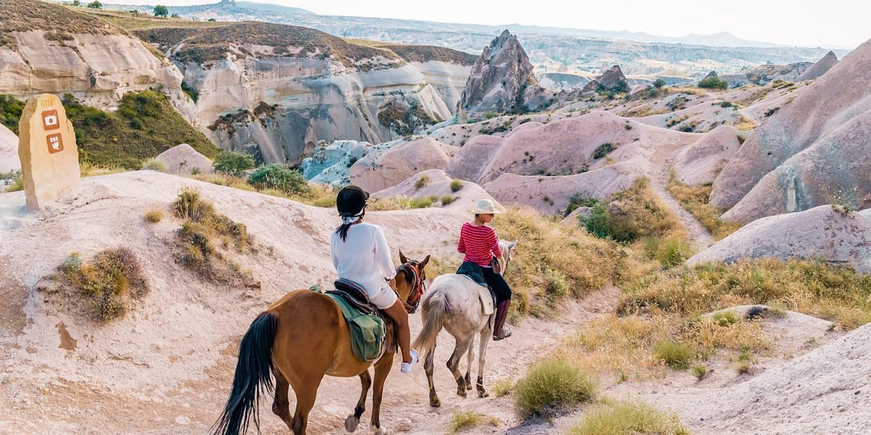 Balade à cheval dans la Cappadoce - Turquie