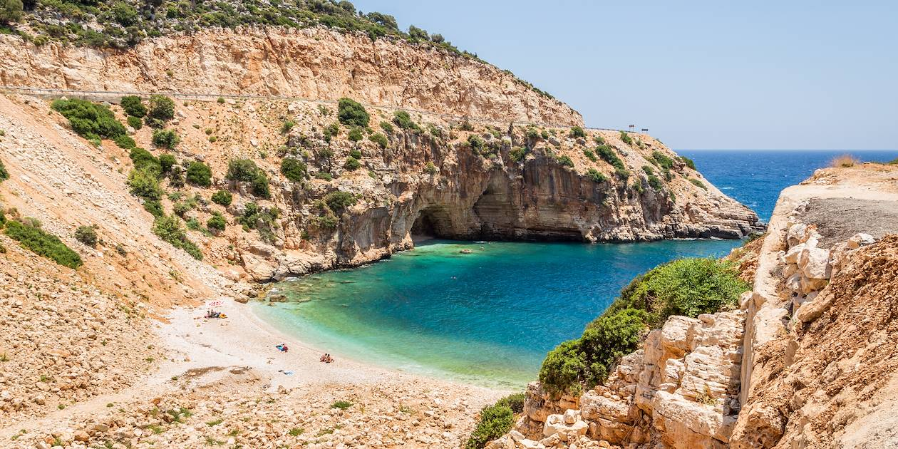 Plage près de Kas, sur la côte Lycienne - Turquie
