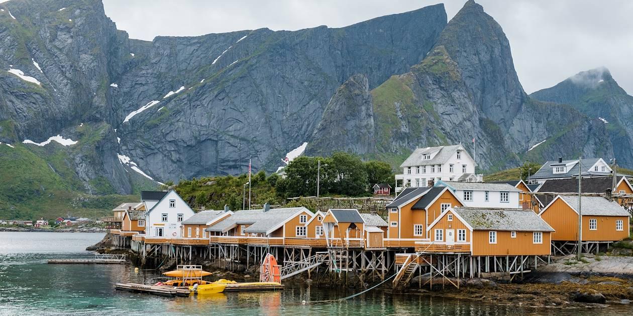 Village de Sakrisoy - Îles Lofoten - Norvège