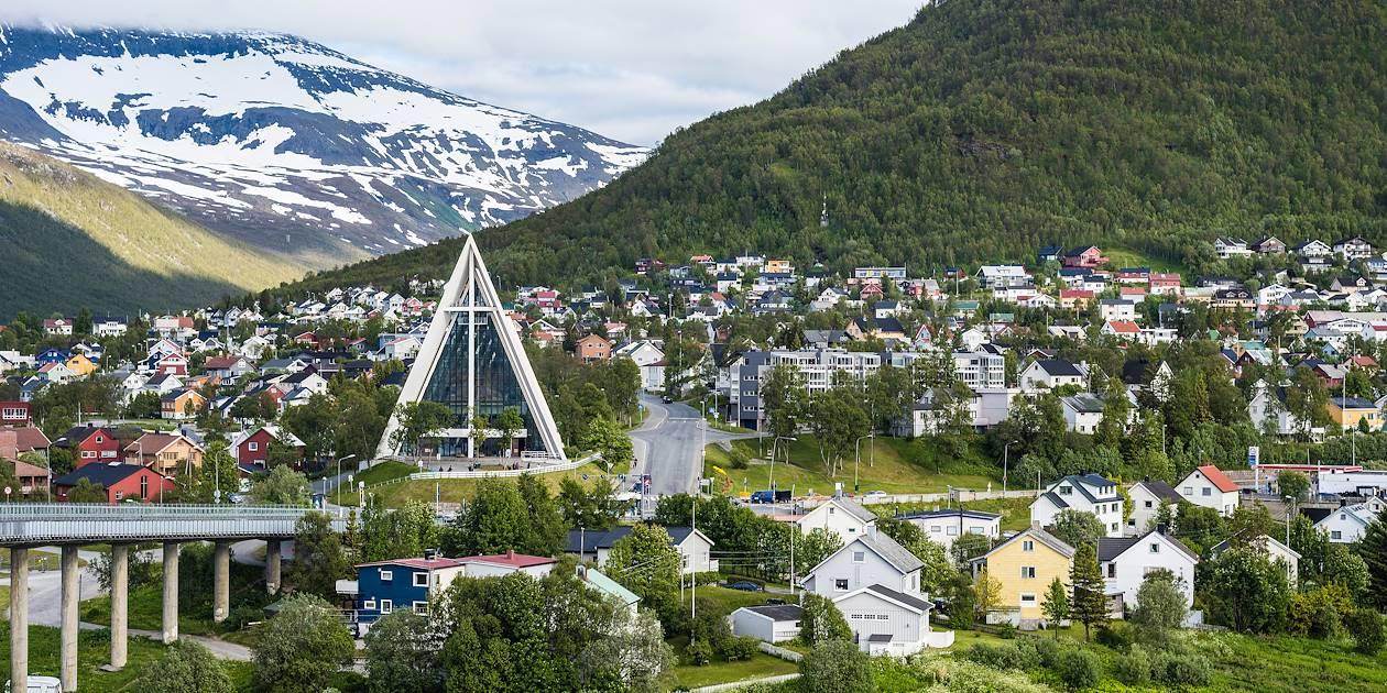 Tromso et sa Cathédrale Arctique - Norvège