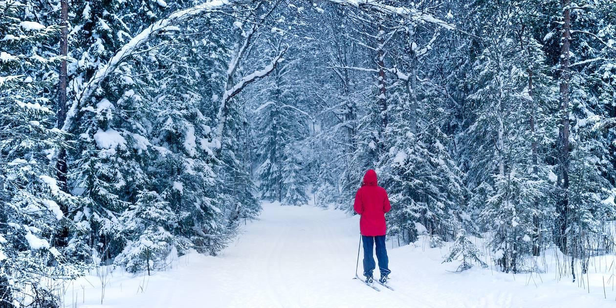 La vallée de Gudbrandsdal, en hiver - Norvège