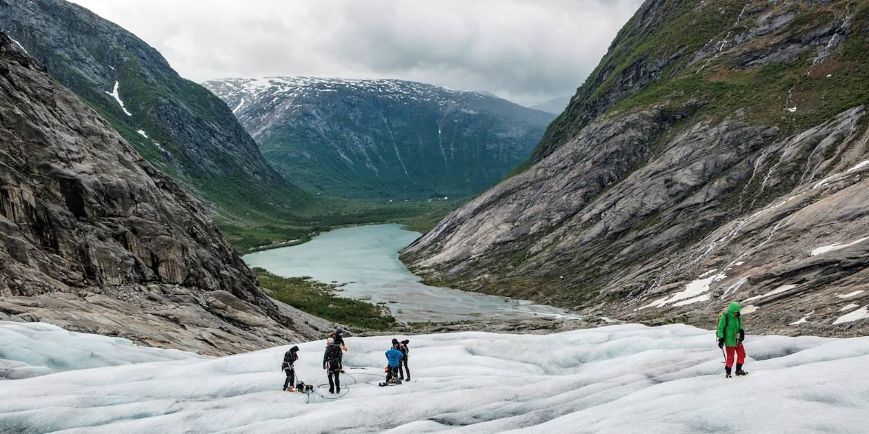 Randonnée glaciaire sur le Nigardsbreen - Jostedal - Norvège