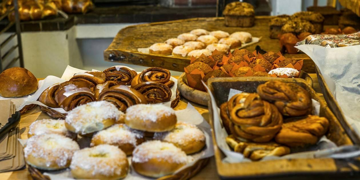 Pâtisseries traditionnelles dans une boulangerie - Norvège