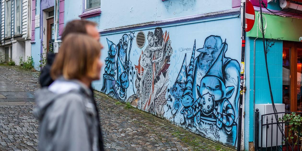 Street art à Stavanger - Norvège