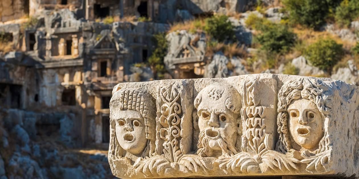 La cité antique de Myre - Turquie