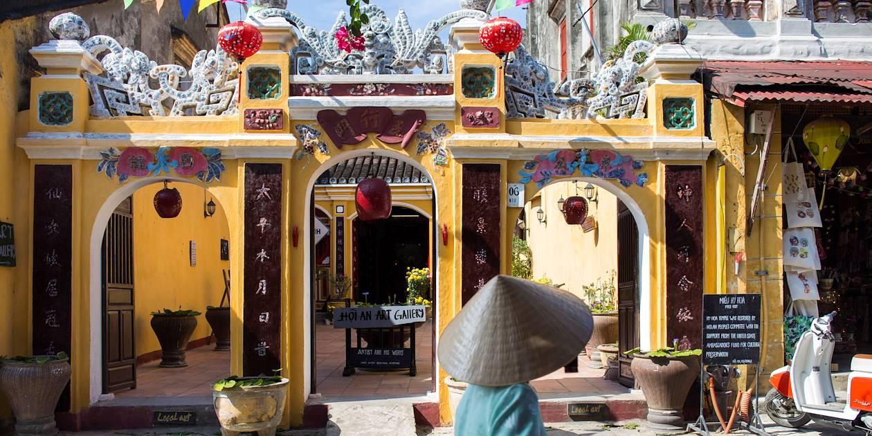 Façade d'une galerie d'art - Hoi An - Vietnam