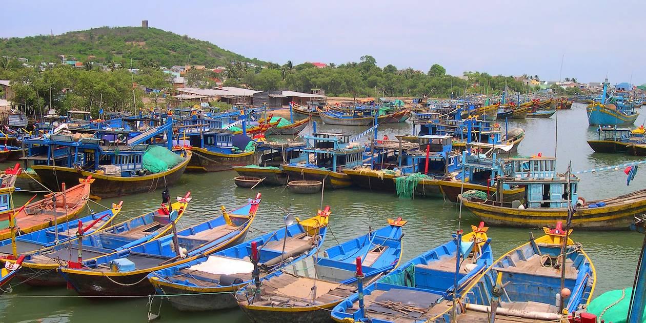 Bateaux de pêche - Phan Thiet - Vietnam