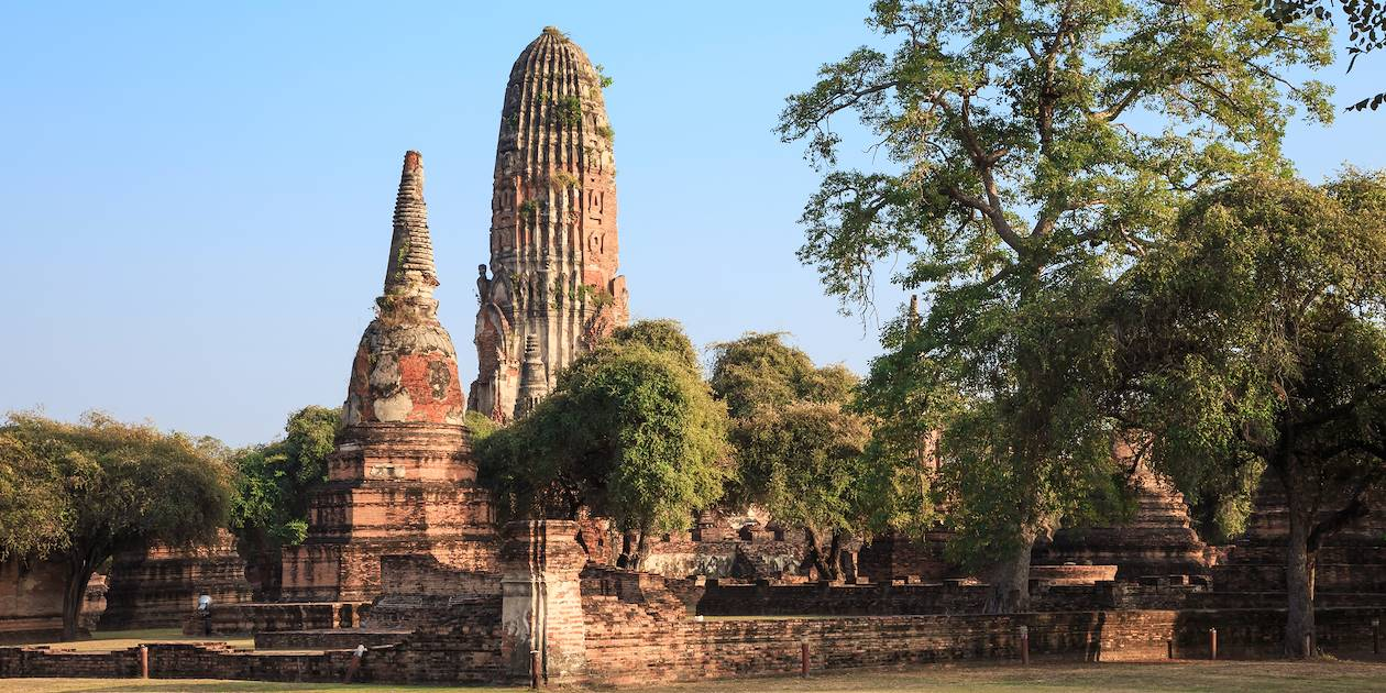 Le temple Wat Phra Ram - Ayutthaya - Thaïlande