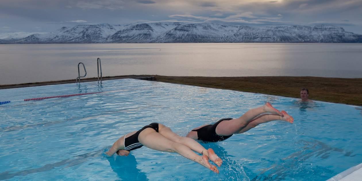 Piscine extérieure - Hofsos - Skagarfjordur - Islande