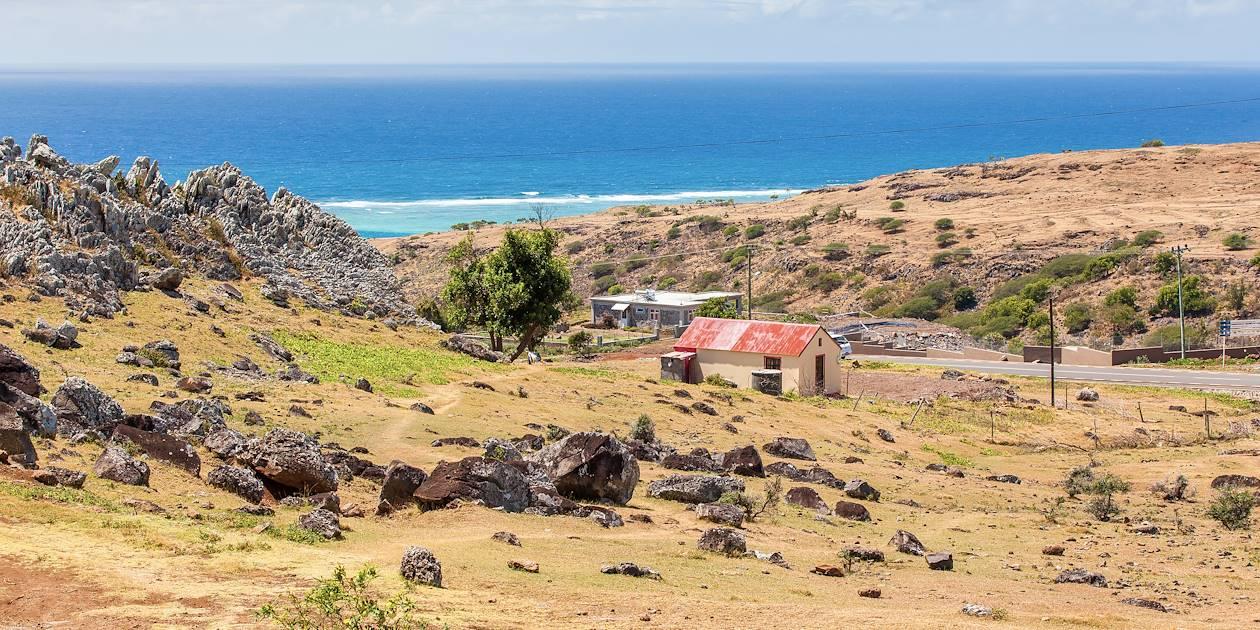 Paysage de campagne - Saint-François - île Rodrigues