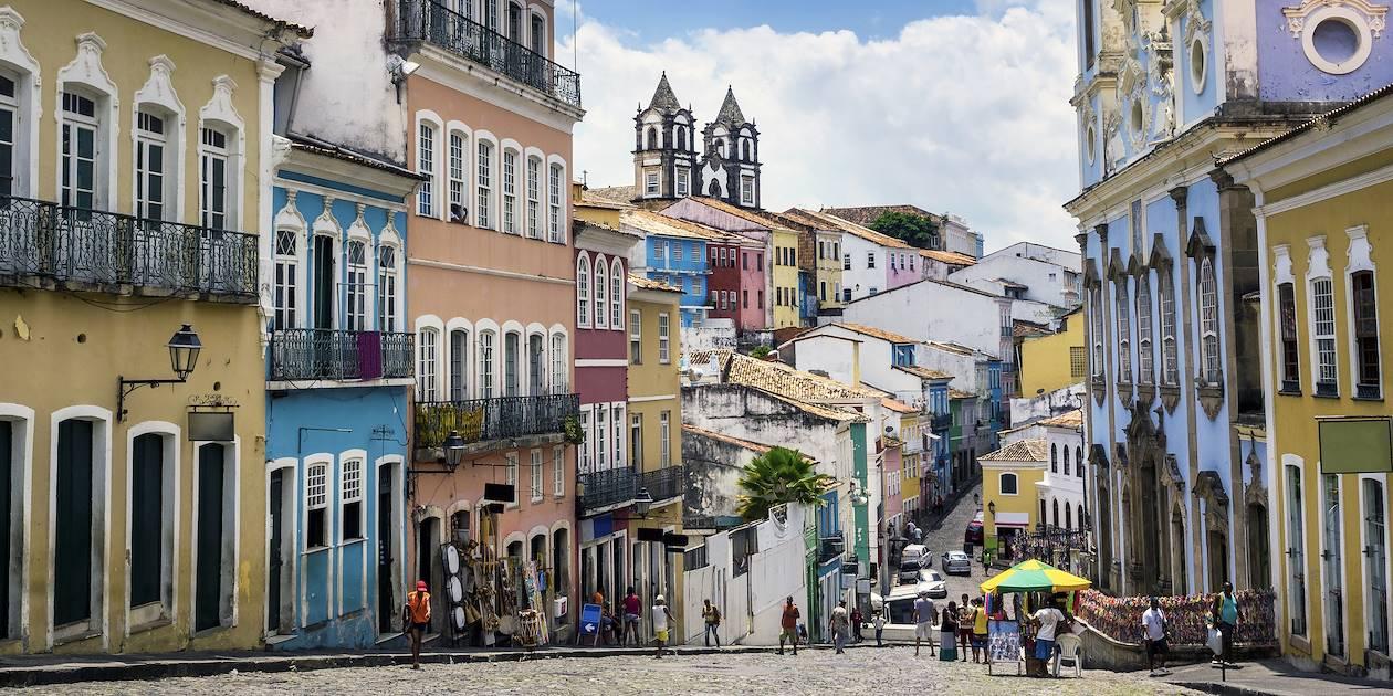 Pelourinho - Salvador da Bahia - État de Bahia - Brésil