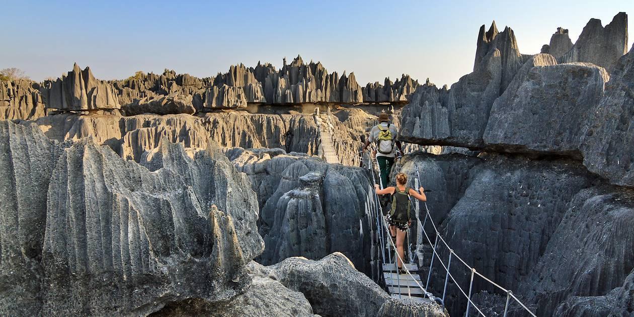 Les grands Tsingy de Bemaraha - Parc Nat de Tsingy de Bemaraha - Madagascar