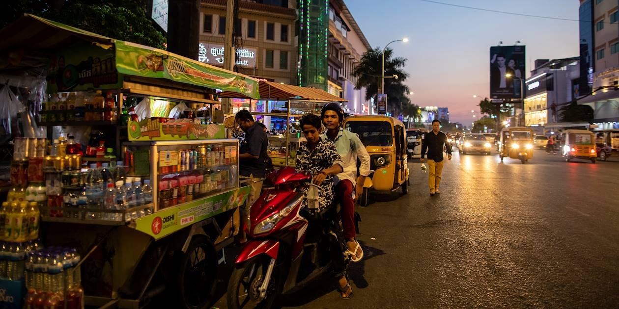 Street food - Phnom Penh - Cambodge