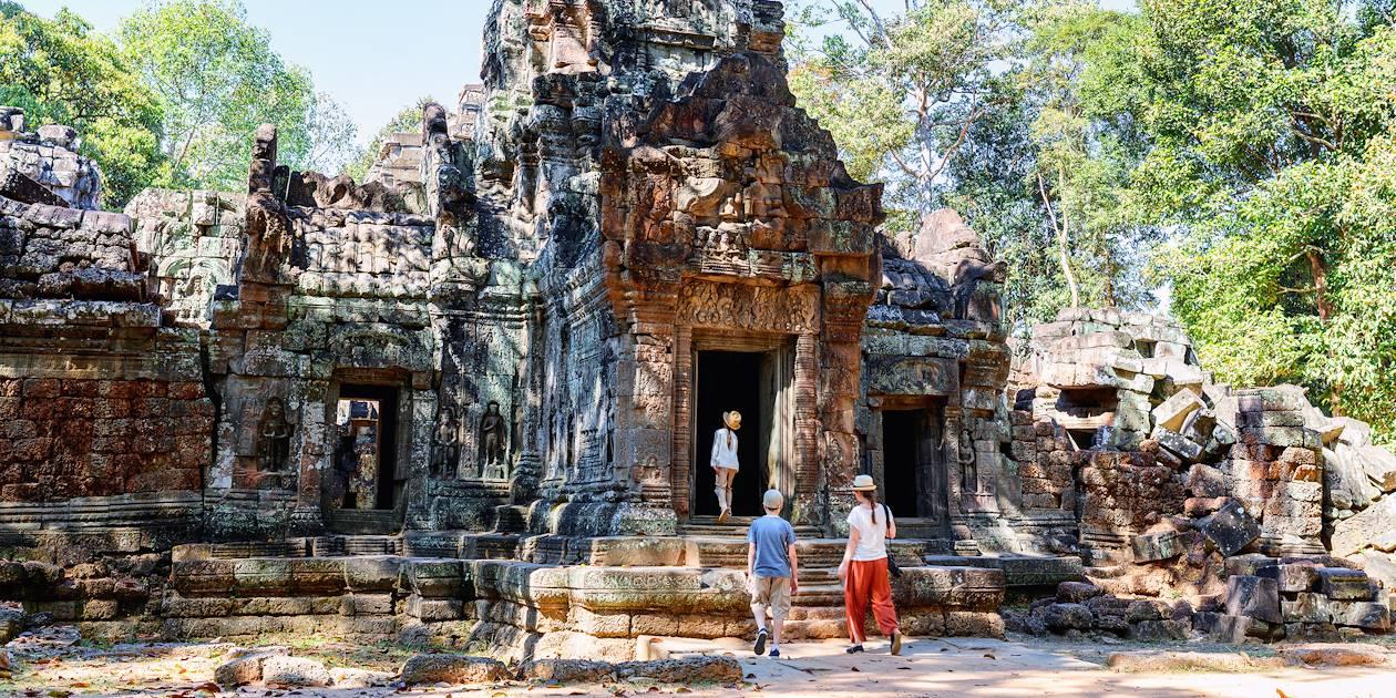 Le temple Ta Som, sur le site d'Angkor - Cambodge