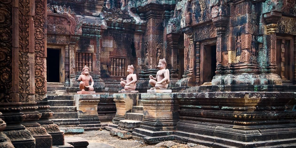 Le temple Banteay Srei - Cambodge