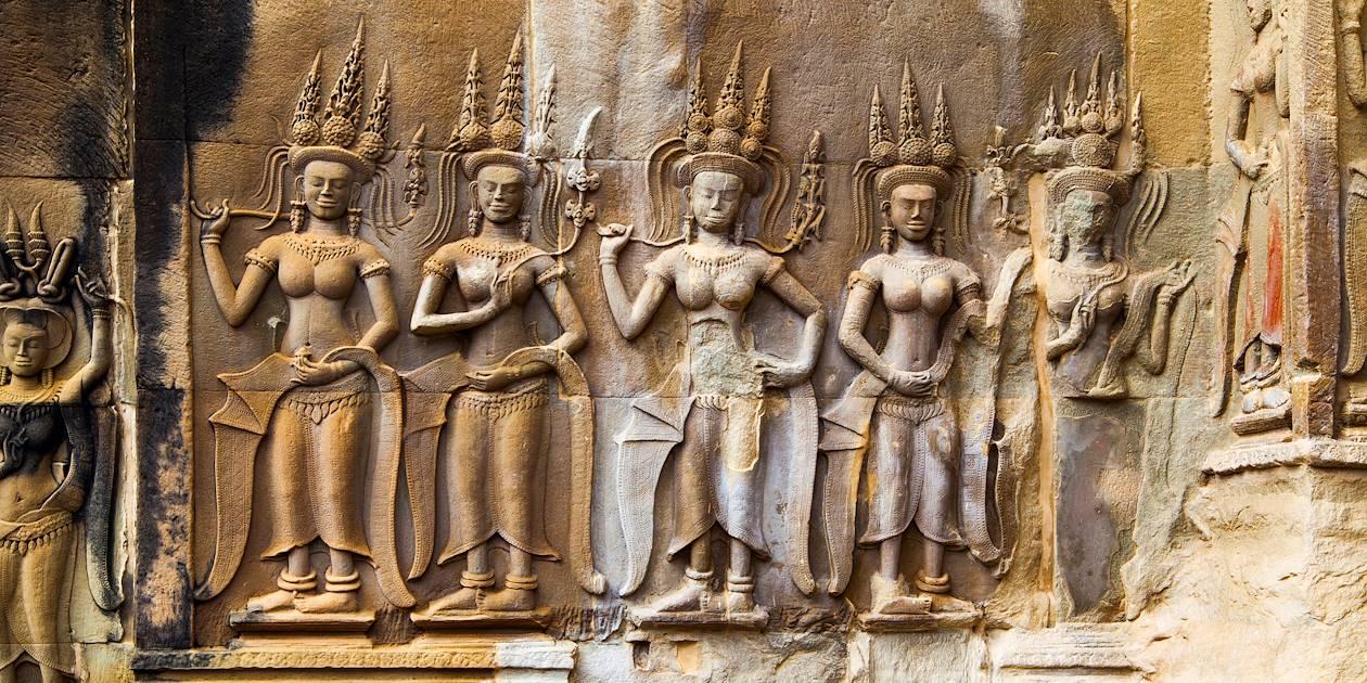 Apsaras - Angkor Wat - Siemp Reap - Cambodge