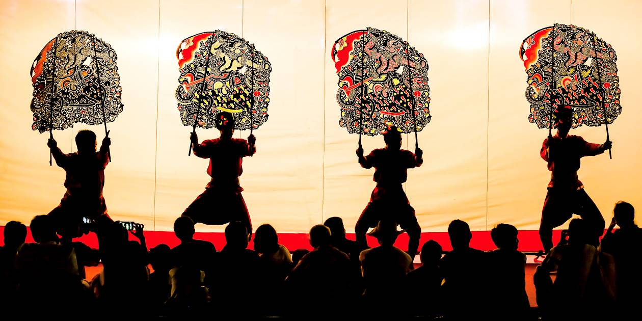 Le Sbek Thom, théâtre d'ombres khmer traditionnel - Cambodge