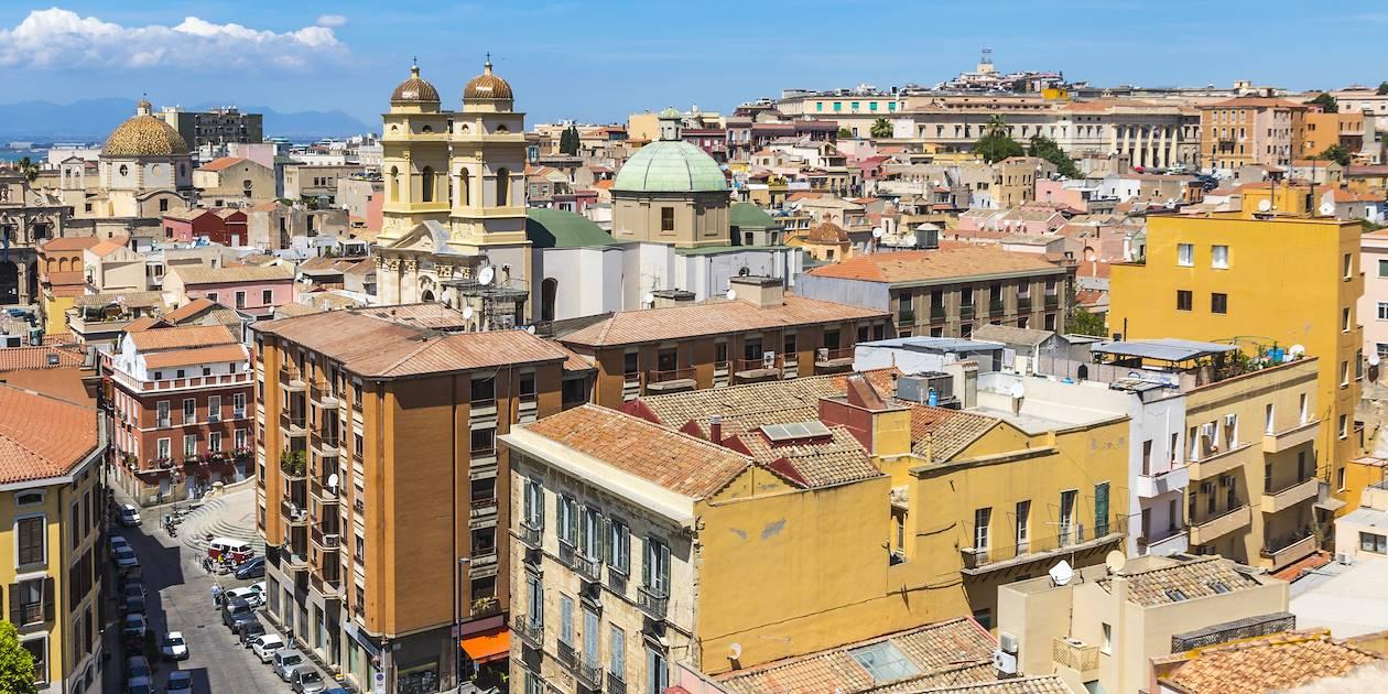 Centre historique - Cagliari - Sardaigne - Italie