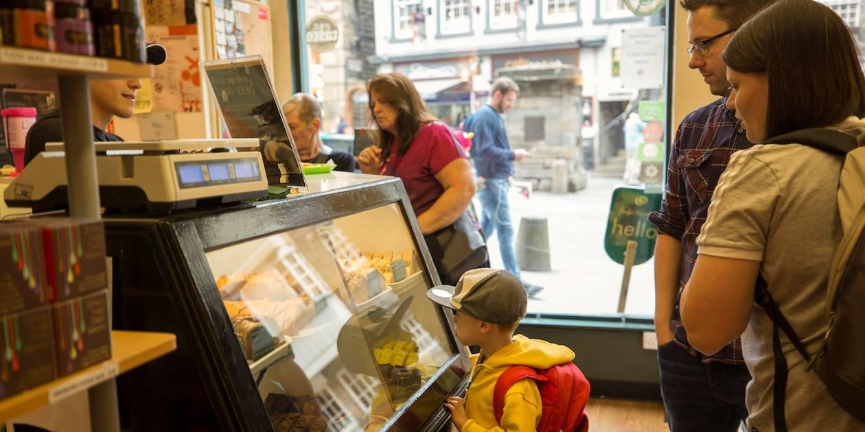 Balade gourmande à Edimbourg - Ecosse