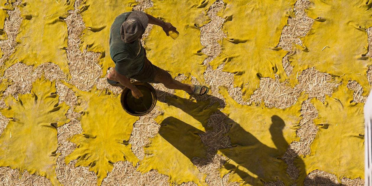 La tannerie de Chouara - Fès - Maroc