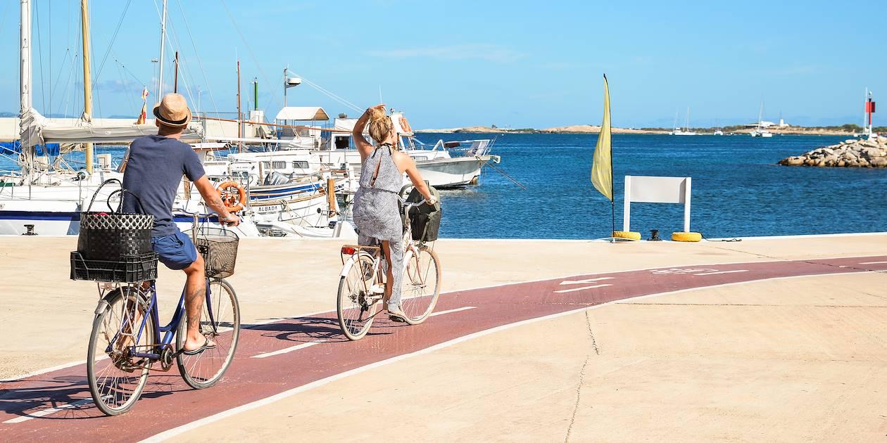 Découverte du littoral à vélo - Formentera - Les Baléares - Espagne