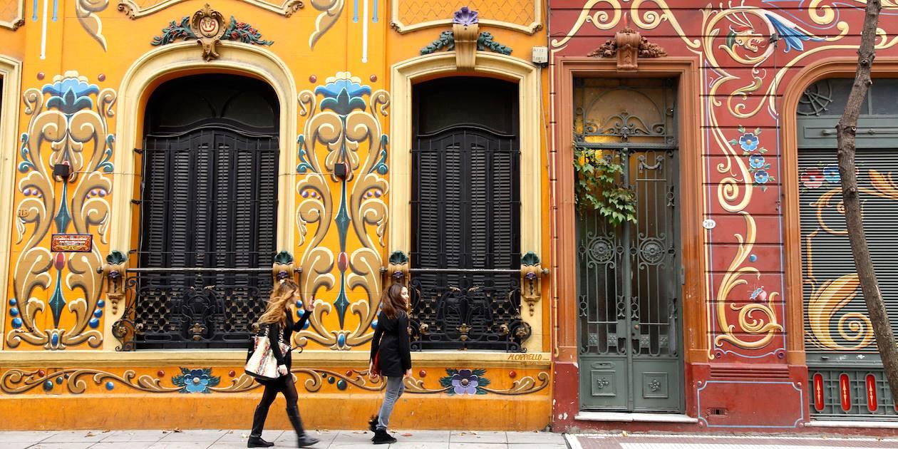 Paseo del Filete dans le quartier d'Abasto -  Buenos Aires - Argentine