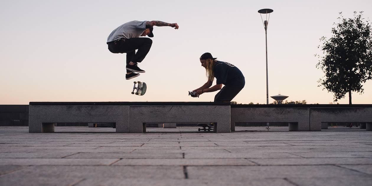 Skateboarders - Helsinki - Finlande