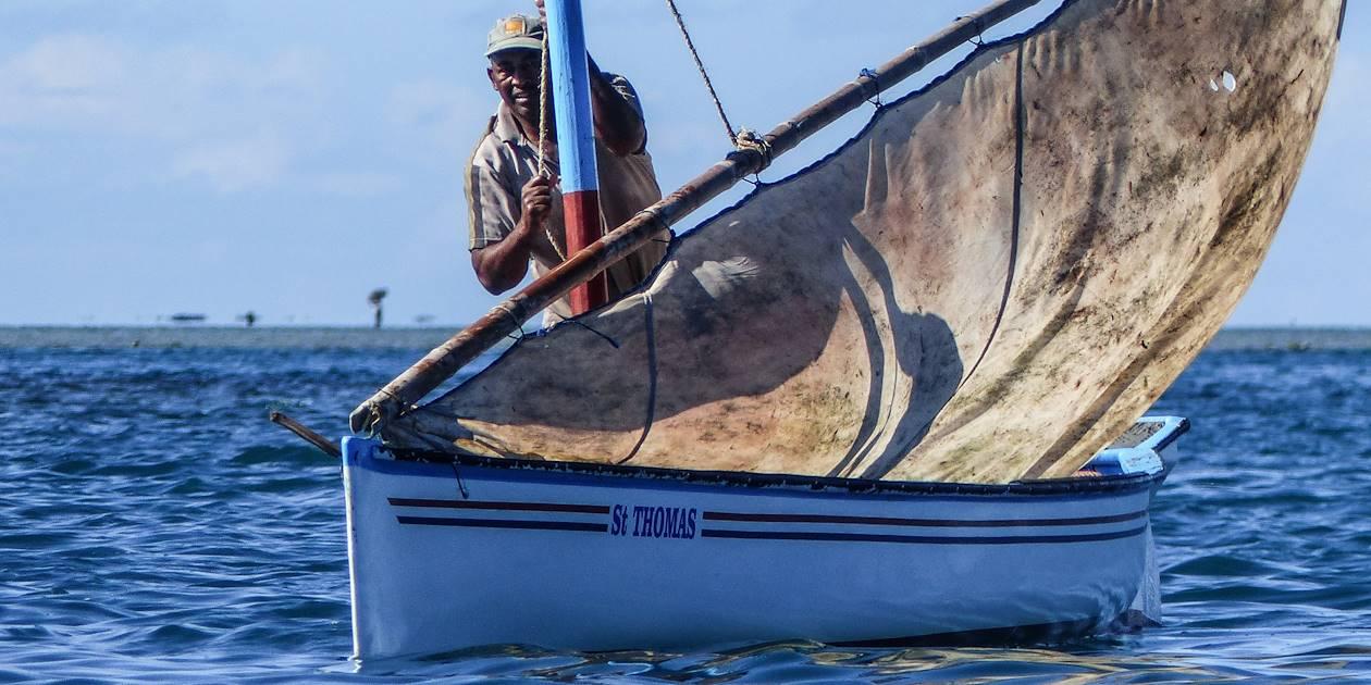 Pêche artisanale à l'Ile Maurice