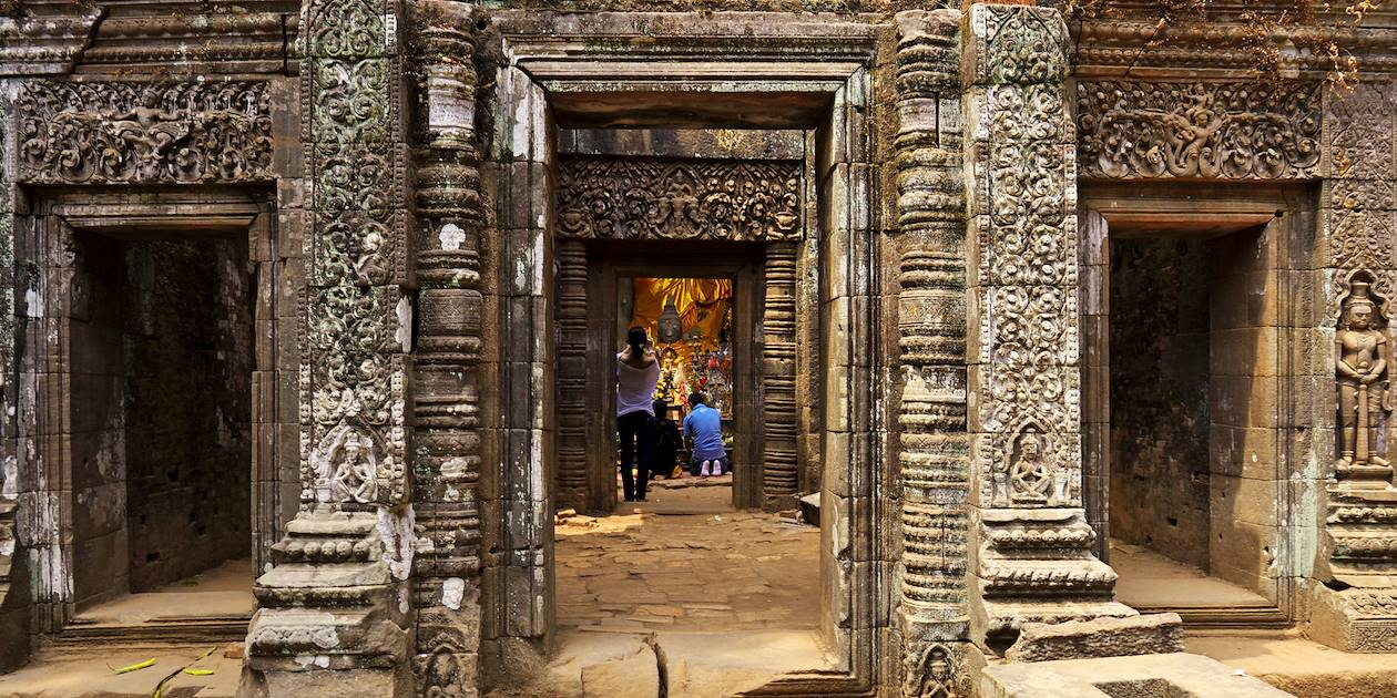 Temple Wat Phou - Champassak - Laos