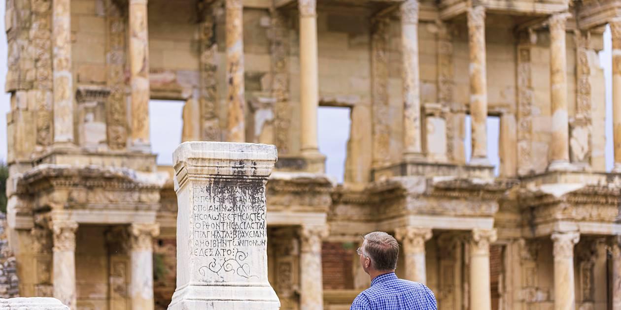 Bibliothèque de Celsius, site antique d'Éphèse - Turquie