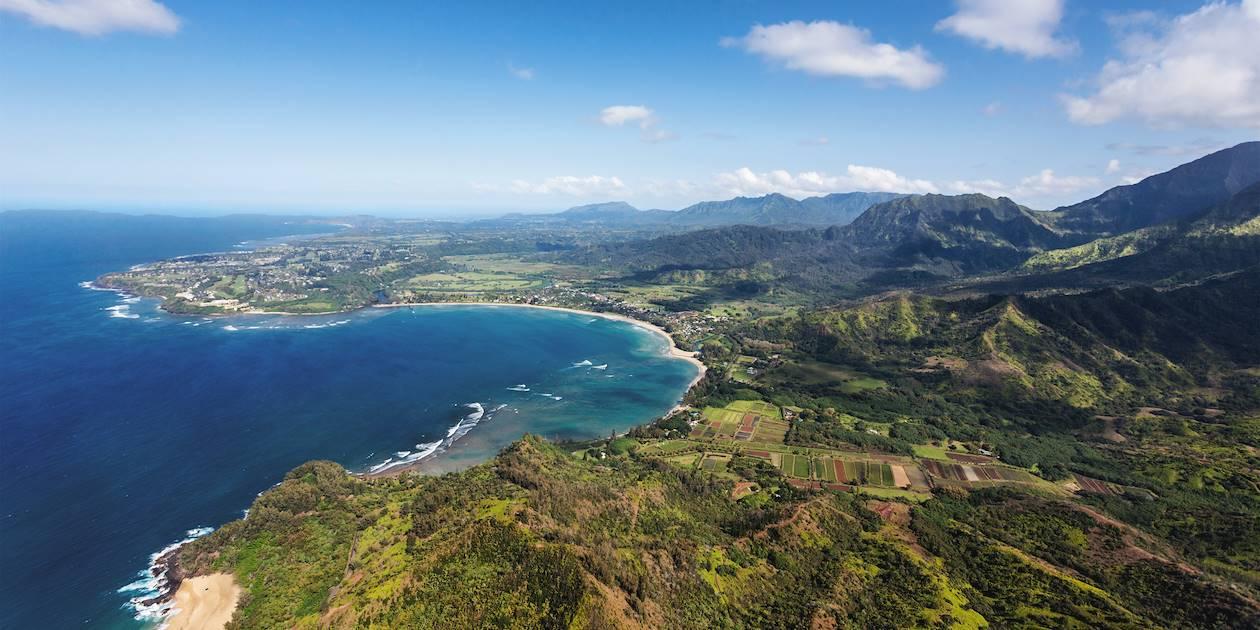 Baie d'Hanalei - Hanalei - Hawaii - Etats-Unis